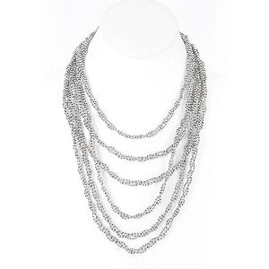 Liquid Metal N20 Necklace