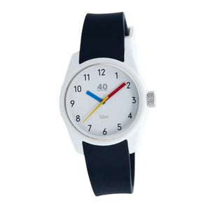 Ladies 40Nine Primary Watch Black