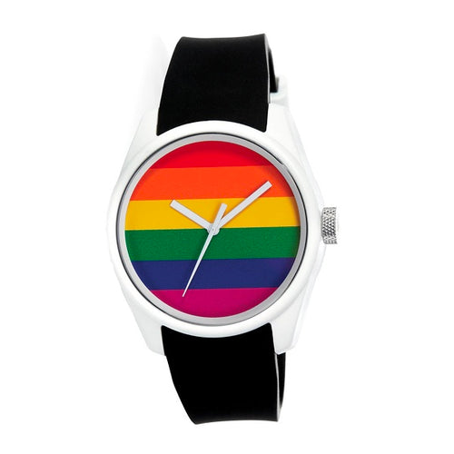 Mens 40Nine Pride Watch Black
