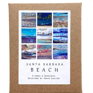 Santa Barbara Beach Boxed Notecards
