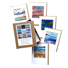 Load image into Gallery viewer, Santa Barbara Beach Boxed Notecards