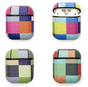 Earbud Case Plaid