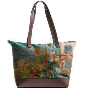 Villas in Bordighera Statement Bag
