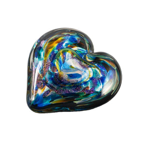 """Anniversary"" Heart of Fire  Paperweight"