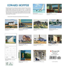 Load image into Gallery viewer, Edward Hopper 2021 Wall Calendar