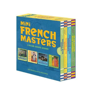 French Masters Mini Books