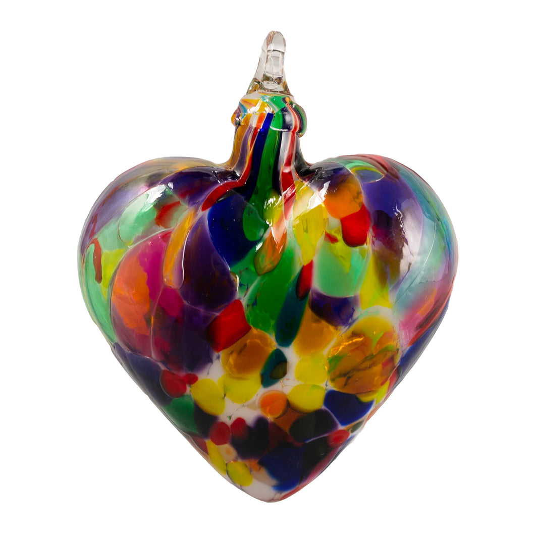 Fiesta Heart Ornament