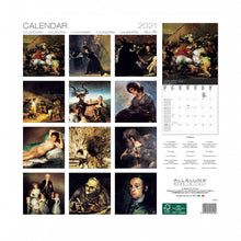 Load image into Gallery viewer, 2021 Goya Calendar