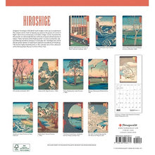 Load image into Gallery viewer, Hiroshige 2021 Wall Calendar