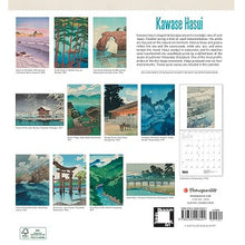 Load image into Gallery viewer, Kawase Hasui 2021 Wall Calendar