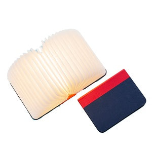 Lumio Book Lamp Red/Navy