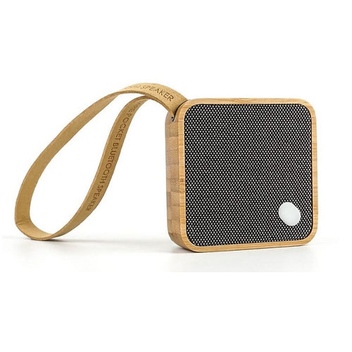 Mi Square Pocket Speaker Bamboo
