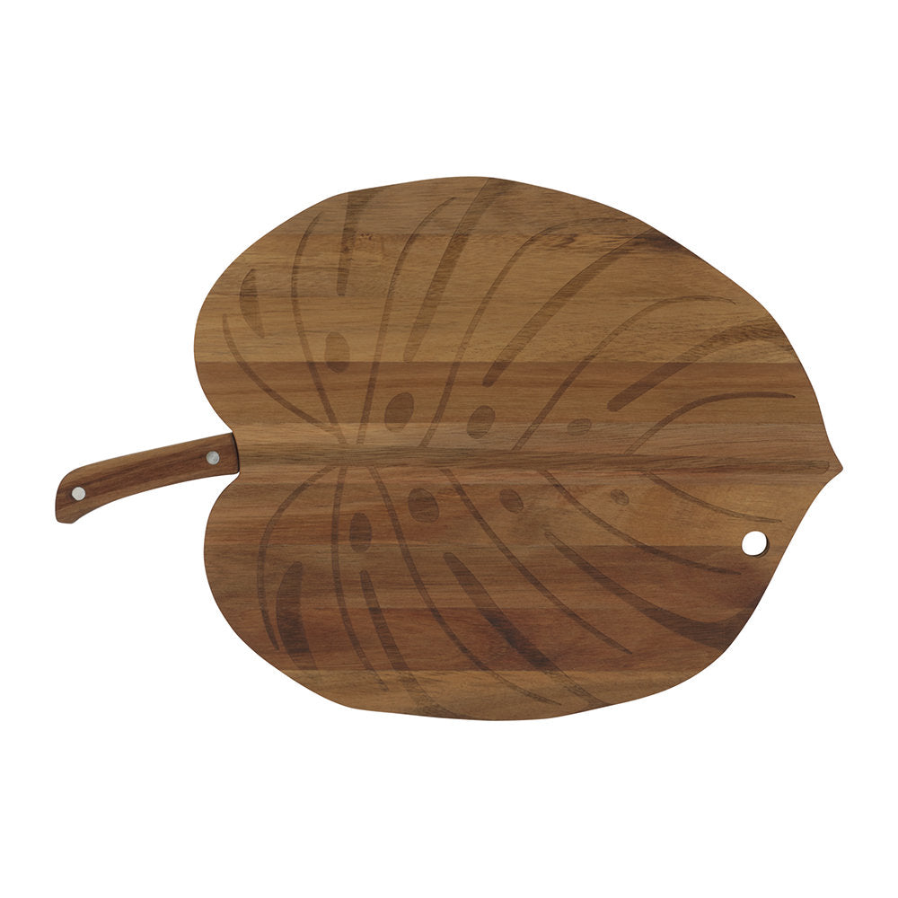 Monstera Serving Board