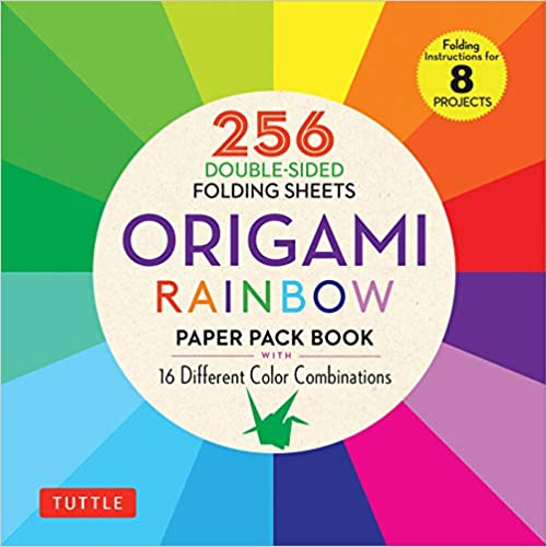 Origami Rainbow Paper Pack Book