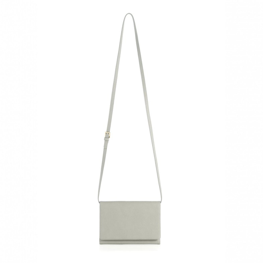 Gigi Cross-Body Wallet Grey