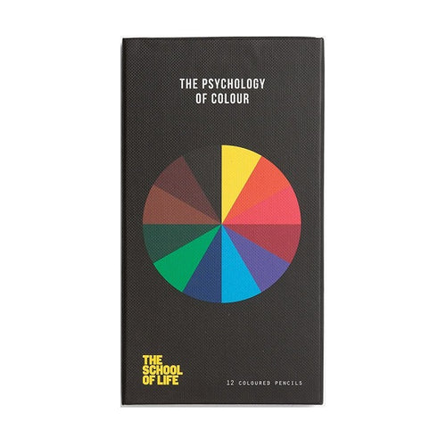 The Psychology of Color Pencil Set