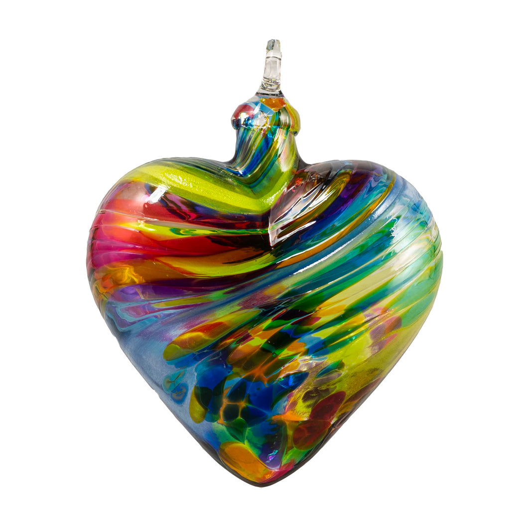 Chameleon Heart Ornament