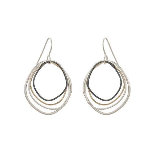Topography Small Earrings