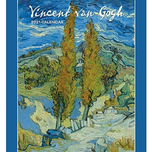 Load image into Gallery viewer, Vincent Van Gogh 2021 Wall Calendar