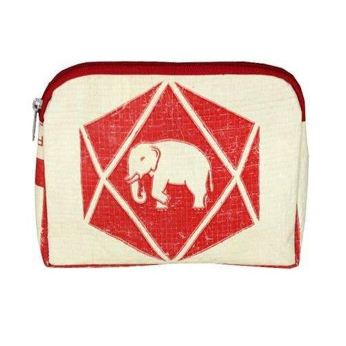 Diamond Elephant Cosmetic Case