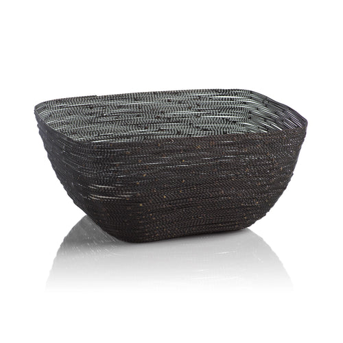 Dakar Square Twisted Wire Basket Small