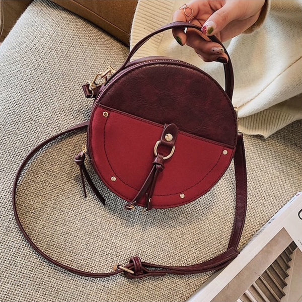 Round Cross-Body Bag