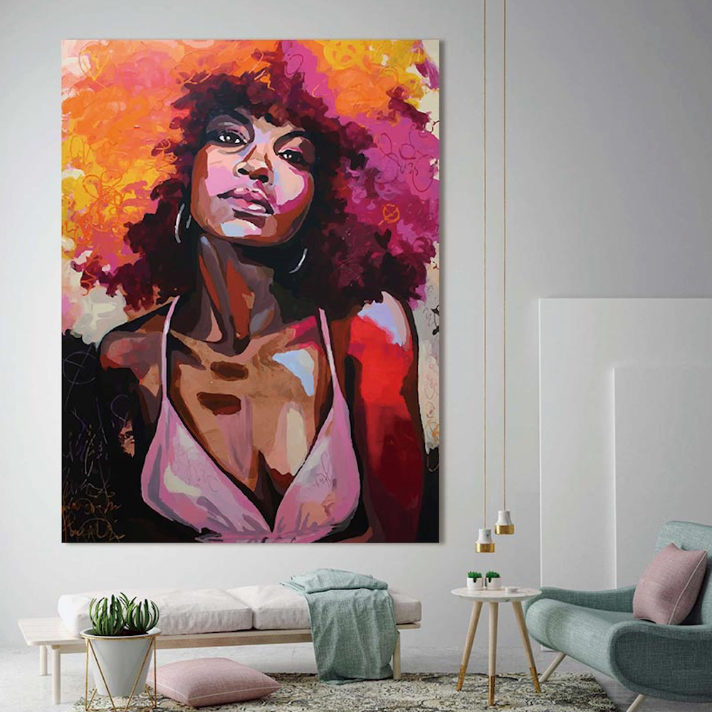Empowering Graffiti - Canvas Prints