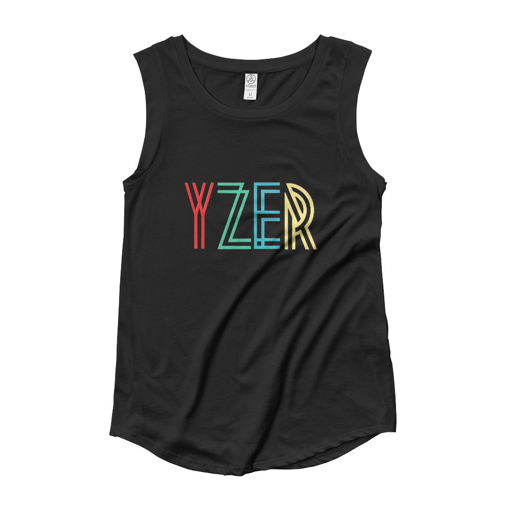 YZER Cap Sleeve Top
