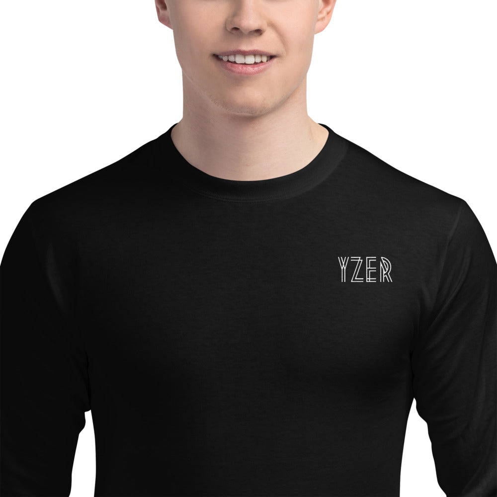 YZER Champion® Long Sleeve Tee