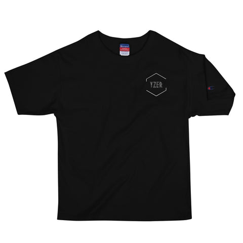 YZER Embroidered Champion Tee