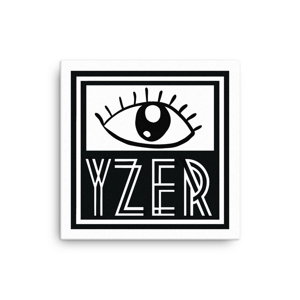"""YZER EYE"" on Canvas"