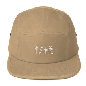 Khaki YZER Classic Five Panel Hat