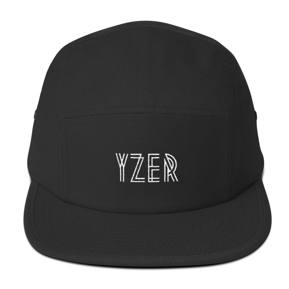 Black YZER Classic Five Panel Hat