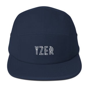 Navy YZER Classic Five Panel Hat