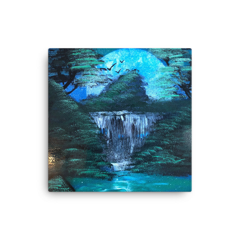 """Cascade"" on Canvas - Dusty Bragg"