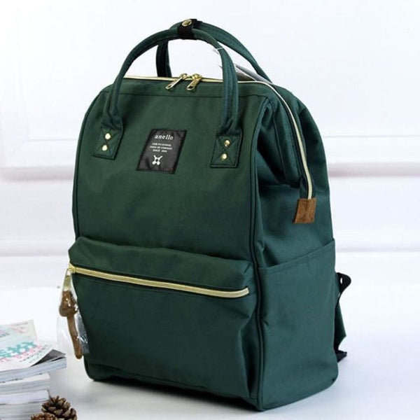 A Ring Tote Backpack - Green / Large Size - Backpack