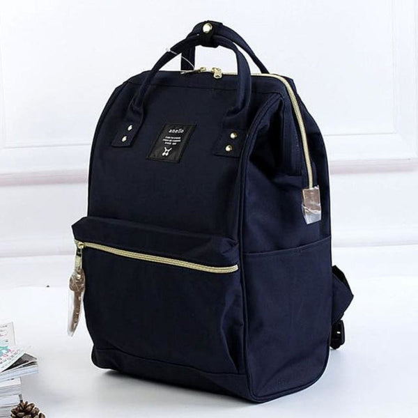 A Ring Tote Backpack - Deep Blue / Large Size - Backpack