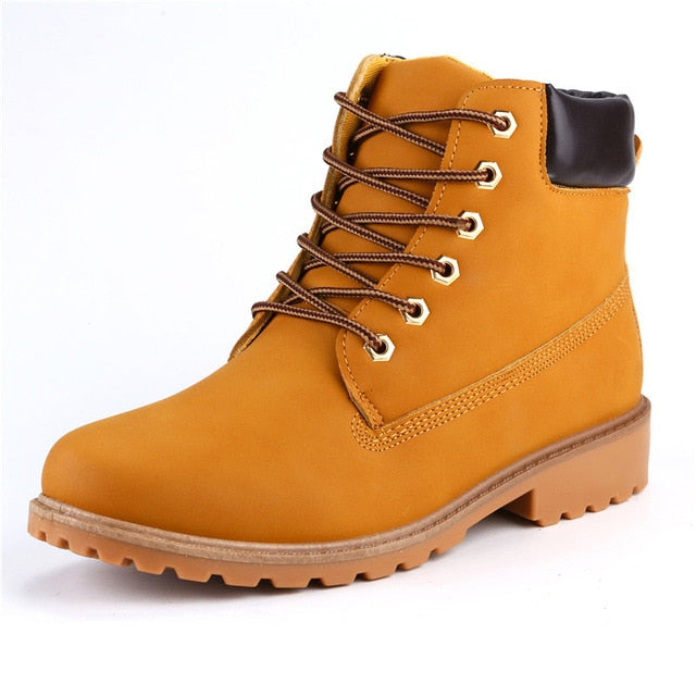 Yellow ROXDIA High-Top Ankle Boots