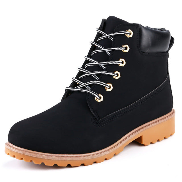 Black ROXDIA High-Top Ankle Boots