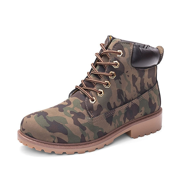 Camouflage ROXDIA High-Top Ankle Boots