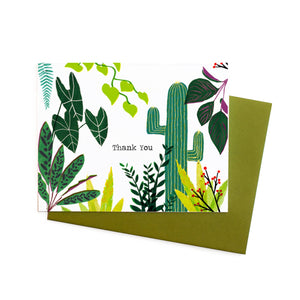 Plant Collection Thank You Card