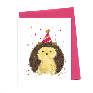 Birthday Hedgehog