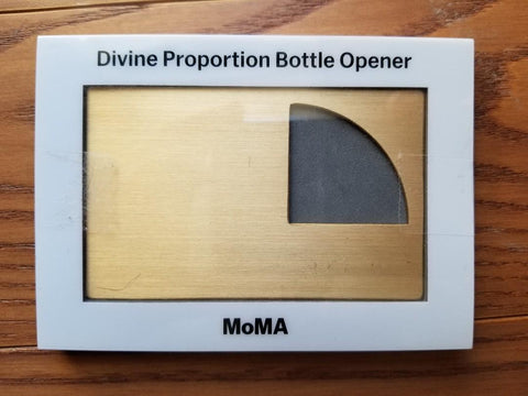 Divine Proportion Bottle Opener
