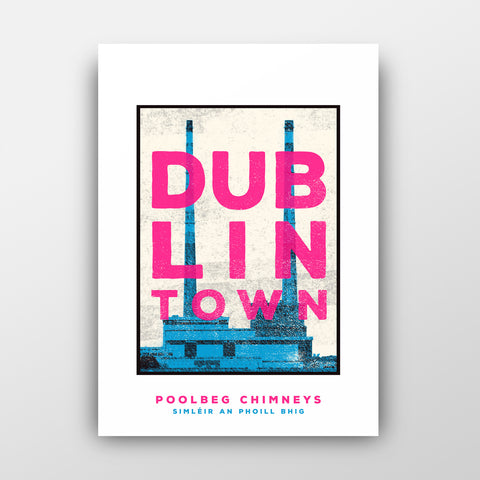 Poolbeg Chimneys - Jando Design (Jam Art Prints)