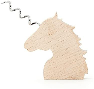 Wooden unicorn Corkscrew