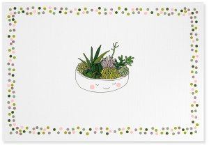 Succulents Notecards