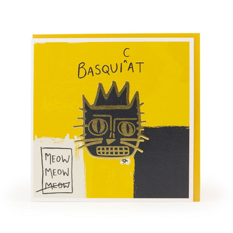 BasquiCat Greeting Card