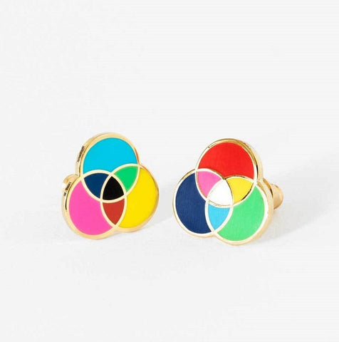 Colour Wheel Earrings