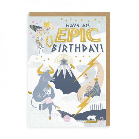 Epic Birthday Greeting Card