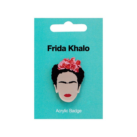 Frida Kahlo Acrylic Badge